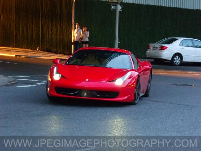 Ferrari-Watermarked Photo