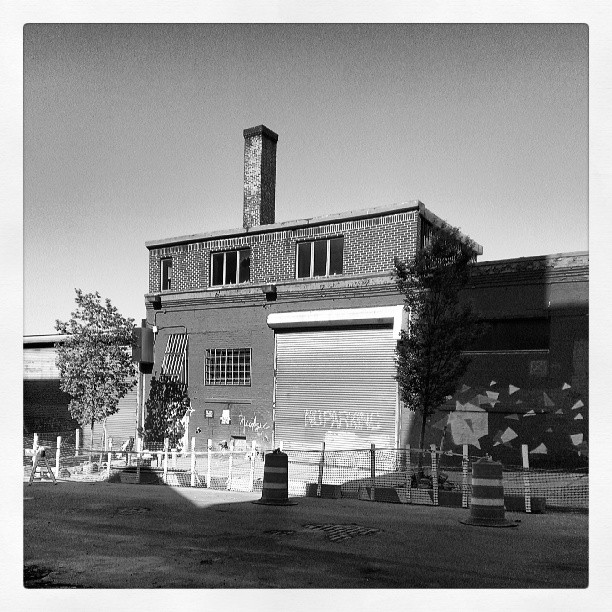 Building in DUMBO Brooklyn taken via Instagram