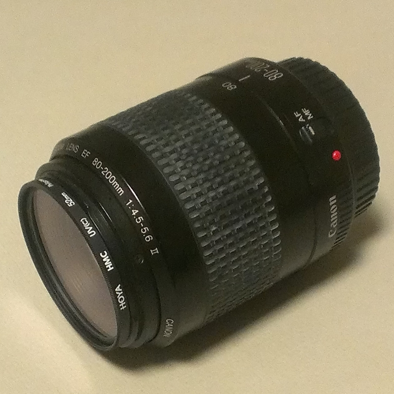 Used Canon EF 80-200 mm f/4.5-5.6 lens