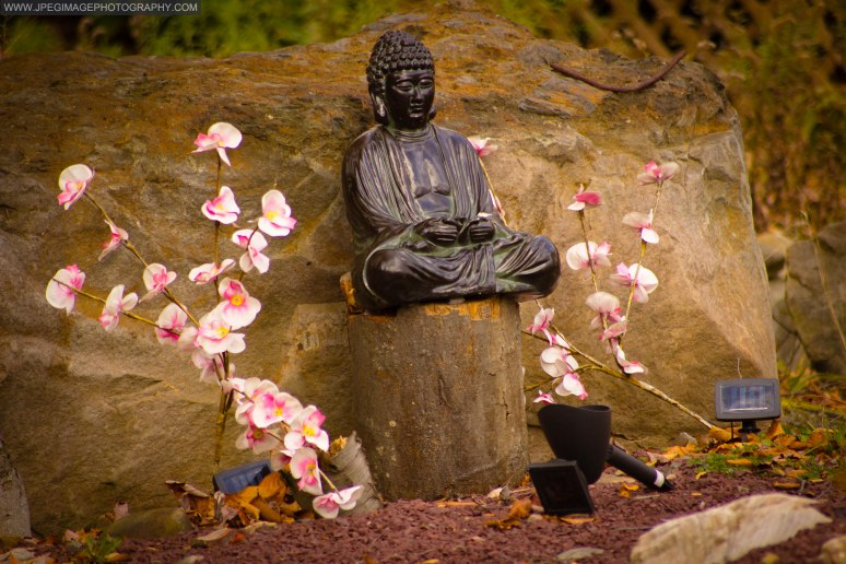 Garden statue discovered on a lawn at a residence located in East Stroudsburg, PA.
