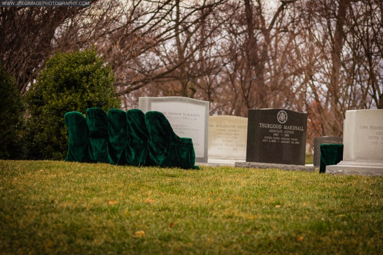 Gravesite of Thurgood Marshall Associate Justice of the United States Supreme Court, at Arlington National Cemetery.