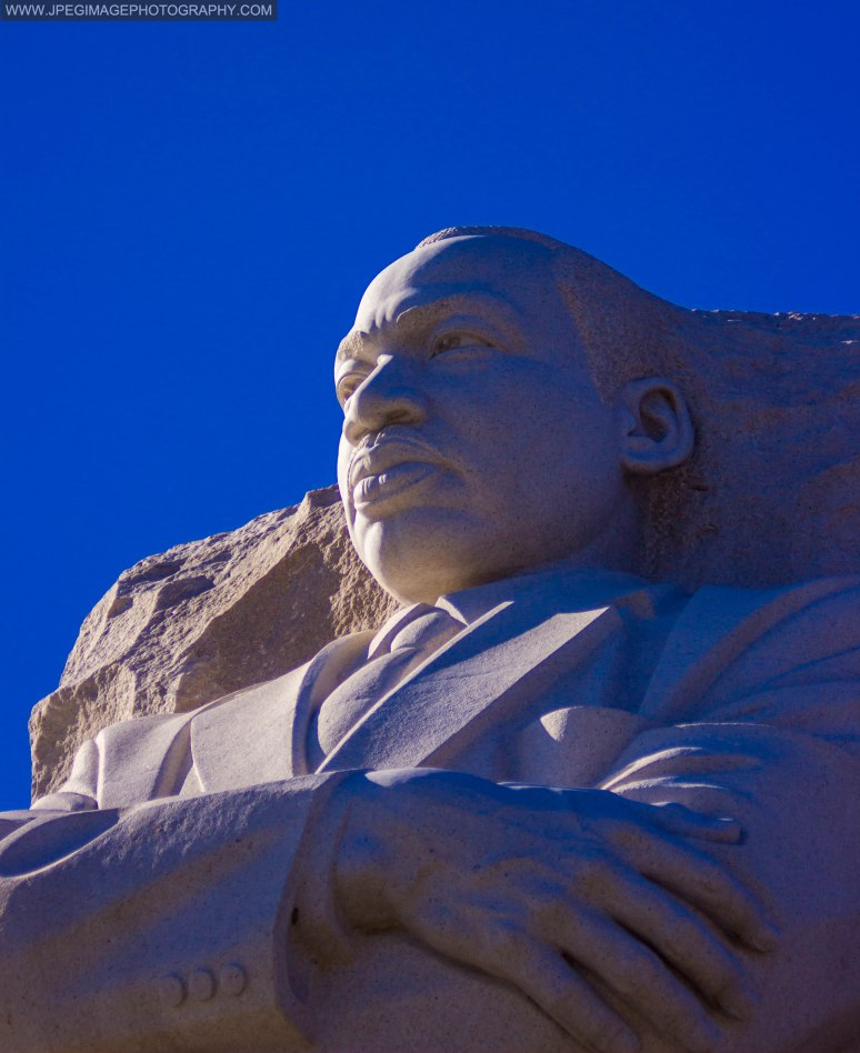 The Martin Luther King MLK memorial in Washington DC.